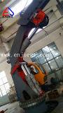 2t14m hydraulisches Ineinanderschieben und Knöchel-Hochkonjunktur-Marineuntersatz-Kran