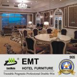 Hotel lussuoso che intaglia la serie presidenziale della mobilia della camera da letto (EMT-D1204)