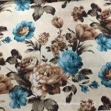 I fiori, tessuto del sofà, 310GSM, 100%Polyester, hanno stampato il tessuto