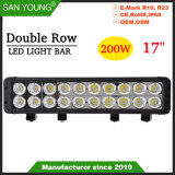17pouces 200W à double rangée de pinceau lumineux à LED Offroad Barres d'éclairage à LED