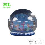 大きく膨脹可能な人間の雪の地球、雪の球の記念品のテント