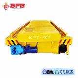 Chemin de fer de l'usine 25t d'acier chariot de transfert pour un matériau lourd (KPT-25T)