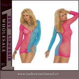 Vestito sexy da notte degli indumenti da letto degli indumenti da notte del Chemise dei pigiami delle signore (T31040-6)