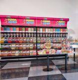 2019 Commerce de détail du diviseur de bonbons étagère réglable Aliments en vrac étagère d'affichage