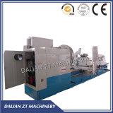 La rigidité élevée 970mm Rail horizontal grand et lourd Tour CNC