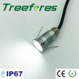 Le métro CREE LED de plein air Spotlight 1W 12V IP67 ampoule lampe