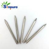 Polidos Burr-Free Pino agulha metálicas de aço inoxidável