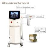Alexandrite 808nm Diode Laser de rajeunissement de la peau sèche dépose la machine