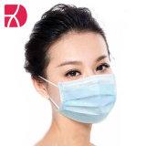 Hoogwaardig, beschermend, niet-geweven, drielaags masker voor eenmalig gebruik buitenshuis