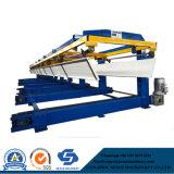 Máquina de empilhamento automático para o telhado e o rolo do painel da parede que formam a linha de produção