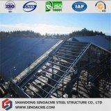 Bâti à pignon de structure métallique jeté avec l'isolation de toit