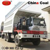 中国70トン鉱山のダンプカーの大型トラック(WD615.47T2)