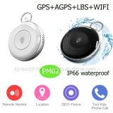 Waterdichte Mini Persoonlijke GPS Drijver met GPS+Lbs+Agps+WiFi Pm02