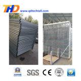 粉のプールのための上塗を施してある鋼鉄塀のパネル