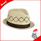 Sombrero de papel del sombrero de ala del sombrero de la manera del sombrero