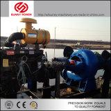 De diesel Pompen die Met motor van het Water in Zuidamerikaanse Mijnbouw werken