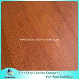 Chinesischer Innenverbrauch des Qualitäts-Strang gesponnener Bambusbodenbelag-(rote orange Farbe) mit preiswertem Preis