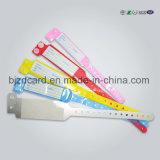 Bracelet médical imperméable à l'eau imprimable thermique populaire de bracelet d'identification de patient hospitalisé