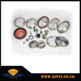 Résine de métal Bond Straight-Line roue de diamants utilisés dans la machine pour le traitement de broyage de verre prix d'usine