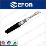 Câble fibre optique Aluminium-Blindé ondulé à plusieurs modes de fonctionnement de 4 faisceaux (GYXTA)