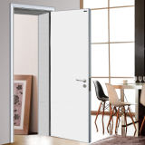 Neues Design Wooden Door für Schlafzimmer, White Raum Door, Internal Solid Wood Door