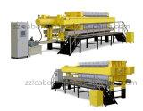 Ahorro de Energía y rápida apertura del filtro máquina de la prensa