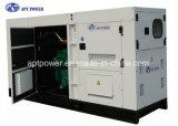 generador de potencia 200kw para la fuente de alimentación, conjunto de generación silencioso