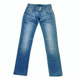 Jeans (1489年)方法衣類のジーンズのデニムの女性