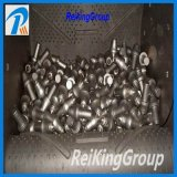 Il tipo d'acciaio della cinghia ha seguito il tipo macchina di granigliatura