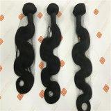 インドの毛を搭載するバージンの毛のよこ糸