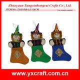 Decorazione di Halloween della decorazione della calza del costume di Halloween della decorazione di Halloween (ZY4428-1-2-3-4)