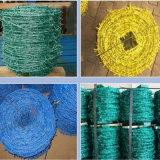 PVC網の塀のためのとげがある鉄ワイヤー
