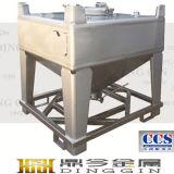 600L réservoir conique en acier inoxydable de poudre et le grain
