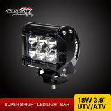 Barra clara Offroad do diodo emissor de luz do CREE 18W popular da mais baixa potência 3.9 ''