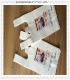 Maak Diverse Grootte dik verhinderen de Vloeibare Verpakkende Plastic Zak van de T-shirt in Broodje