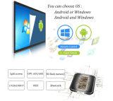 Рекламировать киоск экрана касания 55-Inch индикации LCD установленный стеной