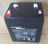 12V 5Ah PE5 ácido de chumbo selado VRLA bateria UPS, isento de manutenção