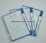 Custom Memo Pad Bloco de notas de papel magnético para refrigerador