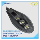 Meanwellドライバーが付いている熱い販売150W IP67 LEDの通りの照明器具