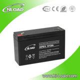 batteria al piombo di 6V 10ah per gli indicatori luminosi solari