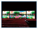 P6.25 오락을%s 실내 Die-Casting 알루미늄 내각 발광 다이오드 표시 스크린 또는 호텔 또는 시장 또는 단계
