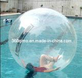 Высокое качество надувной мяч воды, воды в нескольких минутах ходьбы шаровой шарнир