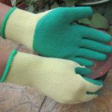 De rubber Palm Met een laag bedekte Handschoen van het Werk van de Bouw