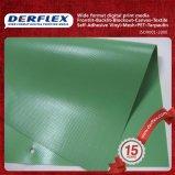 Materiale esterno della tela incatramata del coperchio di PVC