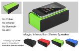 Mini altoparlante magico senza fili di induzione reciproca per tutti i telefoni mobili B-051