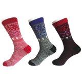 Halber Kissen-Form-Unterhalt-warme Wolle-Socken (JMWL02)