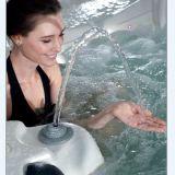텔레비젼 (M-3304)를 가진 SAA 세륨 승인되는 호화스러운 소용돌이 온수 욕조