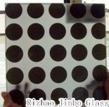 Spandrelの壁(JINBO)のための4-12mmの多彩な艶をかけられたガラス