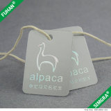 Die Cut Coins arrondis Vêtements Hang Tags