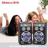 Preiswertester DJ-Lautsprecher-Lautsprecher-Berufslautsprecher-Lautsprecher-Kasten